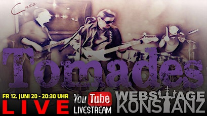 TOMADES - Live auf der Webstage Tickets