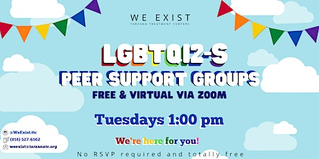 LGBTQI2-S Peer Support Group ages 16ish-25ish (LBC area) tickets
