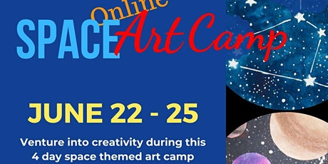 Space Art Camp 2020 tickets