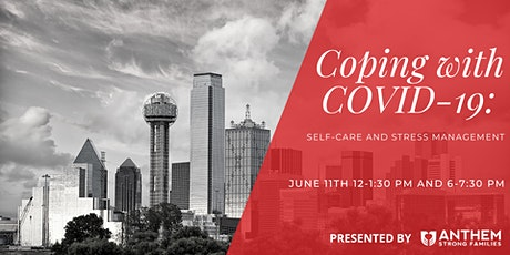 Coping with COVID-19: Self-Care and Stress Management tickets