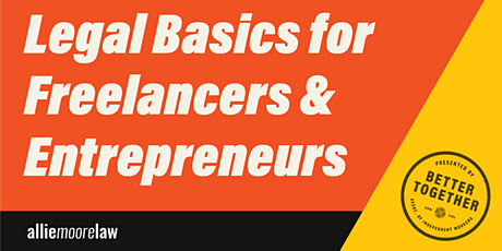 Business Law Basics with Better Together tickets