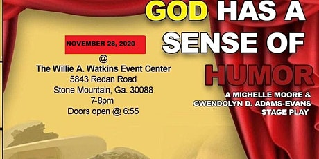(COVID-19 Reschedule)God Has A Sense Of Humor tickets