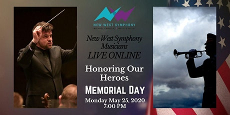 LIVE ONLINE: Honoring Our Heroes on Memorial Day tickets