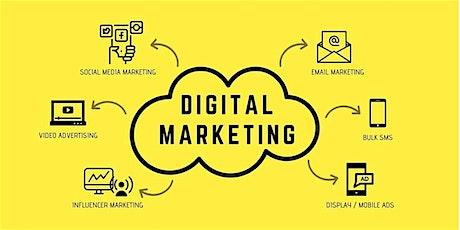 16 Hours Digital Marketing Training in Durham | May 26,2020 - June 18,2020 tickets