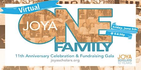 JOYA Scholars VIRTUAL Celebration & Fundraising Gala tickets