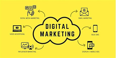 16 Hours Digital Marketing Training in Huntingdon | May 26,2020 - June 18,2020 tickets