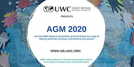 UWC Great Britain AGM 2020 tickets