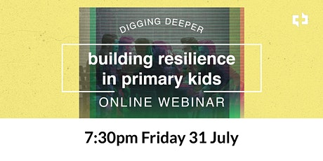 Building Resilience in Primary Kids tickets