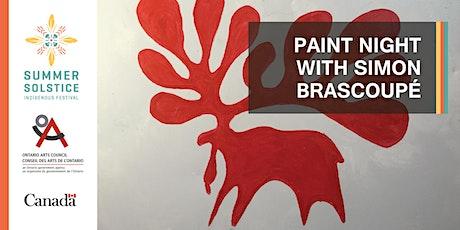 Paint Night with Simon Brascoupé tickets