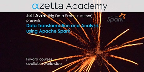 Data Transformation and Analysis Using Apache Spark - Online (GMT+10) tickets