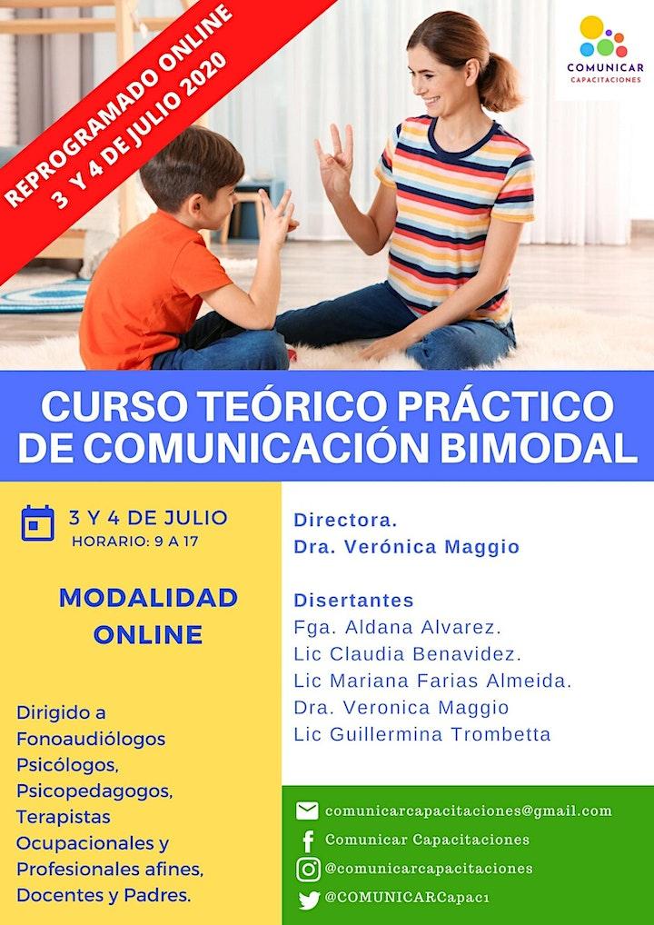 Imagen de Curso Teórico Práctico de Comunicación Bimodal