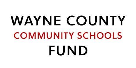 Wayne County Community Schools Fund Launch tickets
