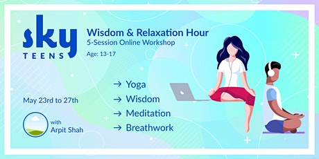 Teens Wisdom and Relaxation Hour tickets