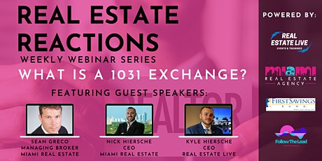 What Is A 1031 Exchange? tickets