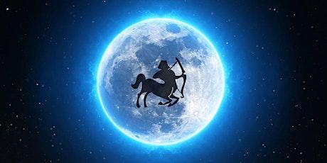 Sagittarius Full Moon Meditation, Crystal Healing & Galactic Transmission tickets