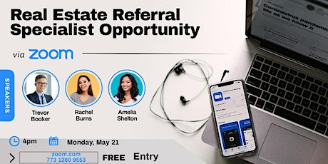 Real Estate Referral Specialist Tickets
