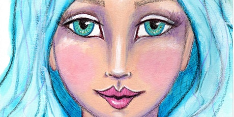 Painting Whimsical Faces Online Live Workshop tickets