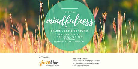 Explore Mindfulness (4-session Online Course) tickets
