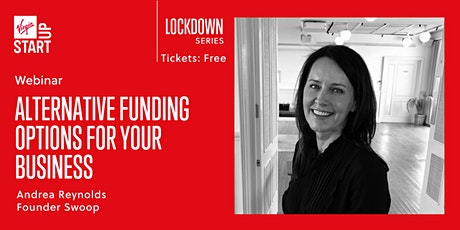 Virgin StartUp Lockdown Series:  Alternative funding options for your business   tickets