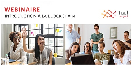 WEBINAIRE Juin - Introduction à la Blockchain billets