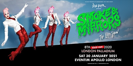 Sasha Velour - Smoke & Mirrors Tour (Eventim Apollo, London) tickets