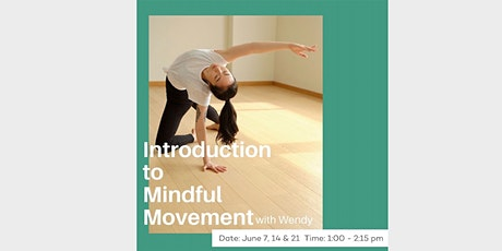 Introduction to Mindful Movement tickets
