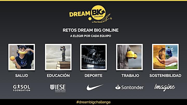 Imagen de Dream BIG challenge online