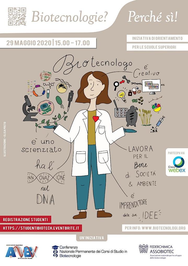 Immagine Biotecnologie? Perchè sì! - ISCRIZIONE INSEGNANTI