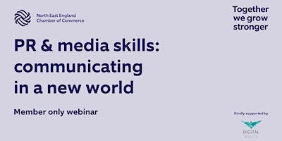 PR & media skills: communicating in a new world