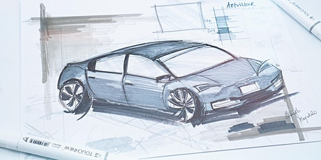 Industrial Sketching: Cars tickets