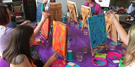 Abstract Painting Party for Beginners tickets