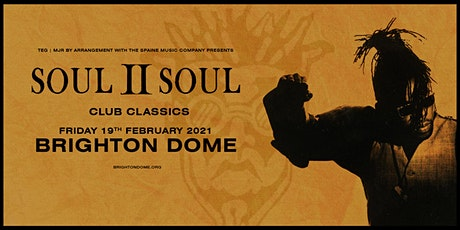 Soul II Soul - Club Classics (Brighton Dome) SOLD OUT tickets