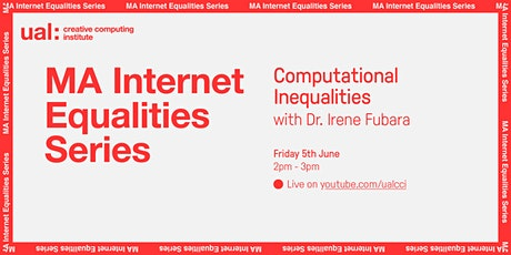Computational Inequalities with Dr Irene Fubara tickets