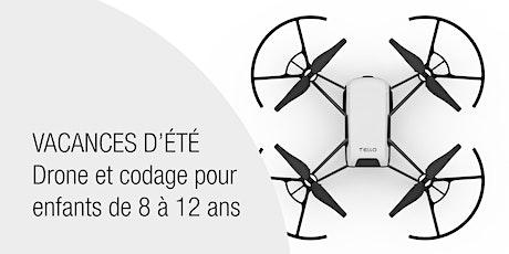 VACANCES D'ETE - DRONE ET CODAGE POUR ENFANTS DE 8 A 12 ANS tickets