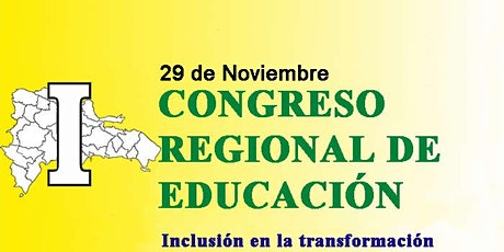 CONGRESO REGIONAL DE EDUCACIÓN entradas