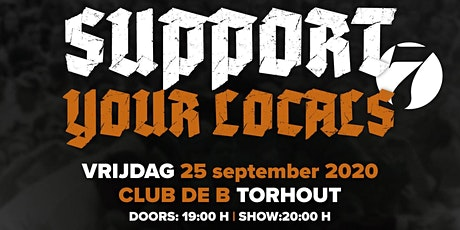 SUPPORT YOUR LOCALS 7 - Liar , Signs Of Algorithm , ArtFx, Askebee billets