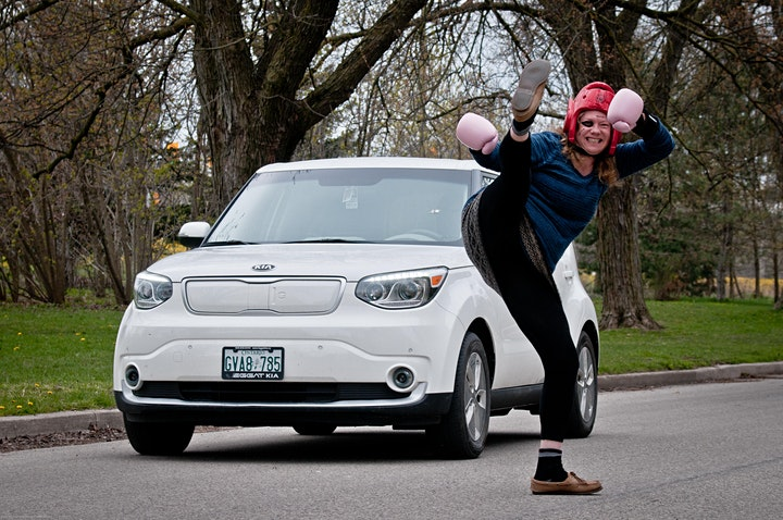 Political Street Fight- My EV is better than Yours! image