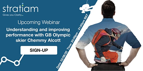 Understanding and improving performance with GB Olympic skier Chemmy Alcott tickets