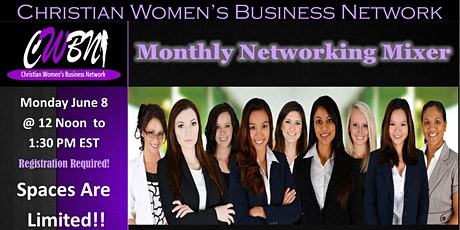 CWBN Networking Zoom Mixer tickets