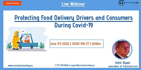 Protecting Food Delivery Drivers and Consumers During Covid-19 tickets