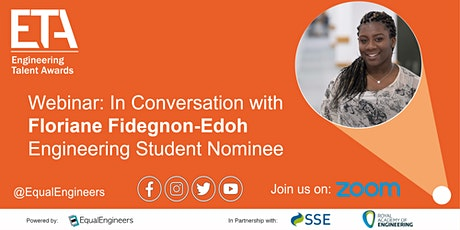 ETA Webinar: In Conversation with Floriane Fidegnon-Edoh tickets