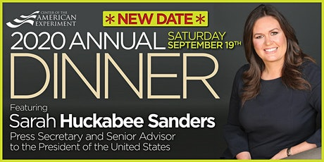 2020 Annual Dinner Featuring Sarah Sanders tickets
