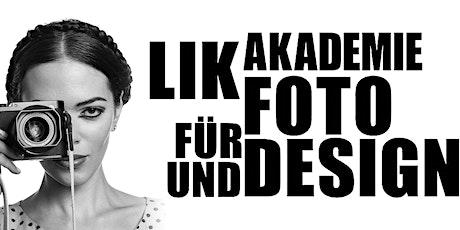 Online Infoabend der LIK Akademie für Foto und Design Tickets