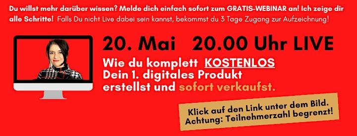 Dein 1. digitales Produkt erstellen - EXKLUSIVES VIP-PAKET inkl 1:1 Mai: Bild