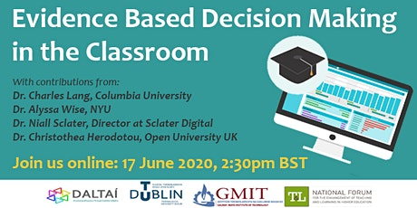 Evidence Based Decision Making in the Classroom tickets