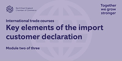 Module two: Key elements of the import customs declaration