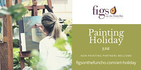 Painting Holiday Europe at Portugal's Figs on the Funcho 2021 bilhetes