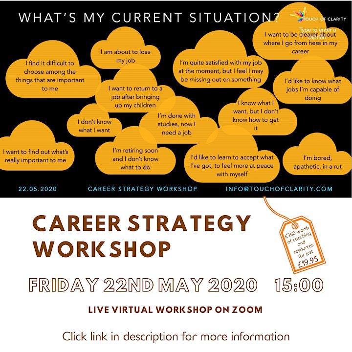 Career Strategy Workshop image