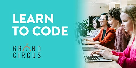 REMOTE Free Intro to Coding Workshop with Grand Circus & Cahoots tickets
