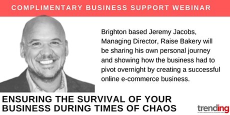 B2B Peer Support Workshop. Ensuring Business Survival During Times of Chaos tickets